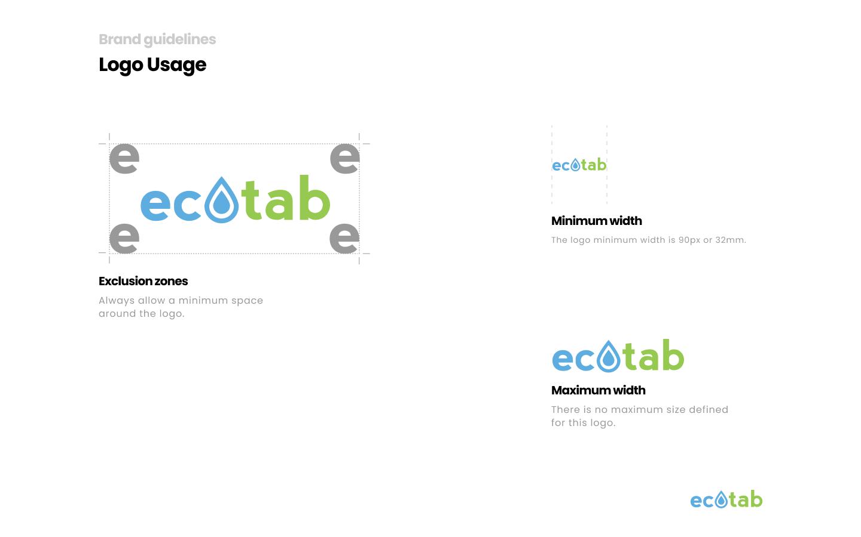 Ecotab logo usage